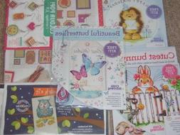 1 Small Cross Stitch Kit for Cards etc Drop Down Menu Choice