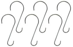 2-Pack Heavy Duty Stainless Steel Branch S Hook, Made in the