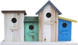 23 Bees 4 Hole Bird House for Outside/Indoors/Hanging, Kits