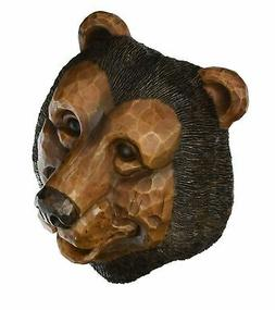 "BLACK BEAR--- BIRD HOUSE, 9""T X 7""W X 5"" D,"