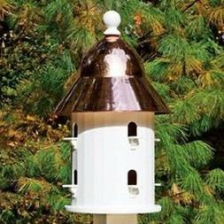 good directions bell bird house with polished