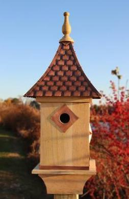 Good Directions Lazy Hill Farm Mango Bird House Mango Wood C