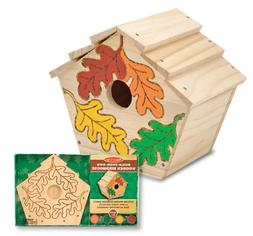 Melissa and Doug Kids Toy, Build-Your-Own Wooden Birdhouse