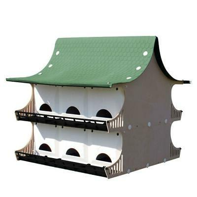 12 family purple martin house bird resistant