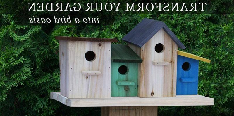 23 Bees 4 Bird House for Outside/Indoors/Hanging, Kits for Children