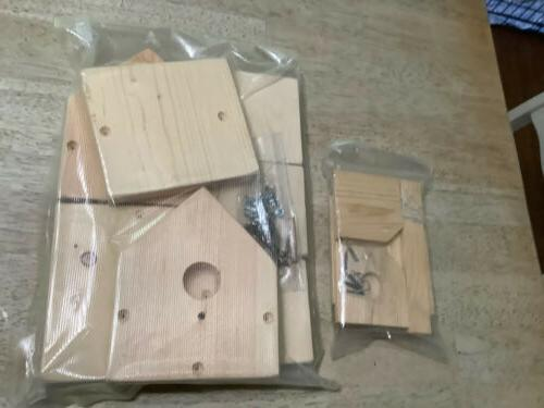 Build A Birdhouse - Pre-fab Wood And Small