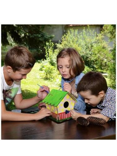 Crafts 4-8, House for Kids, Paint