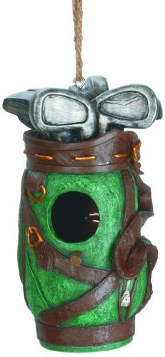 Spoontiques Golf Bag Birdhouse