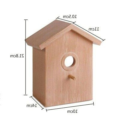 Pet,Bird House Window Birdhouse With Suction Cup Garden Outd
