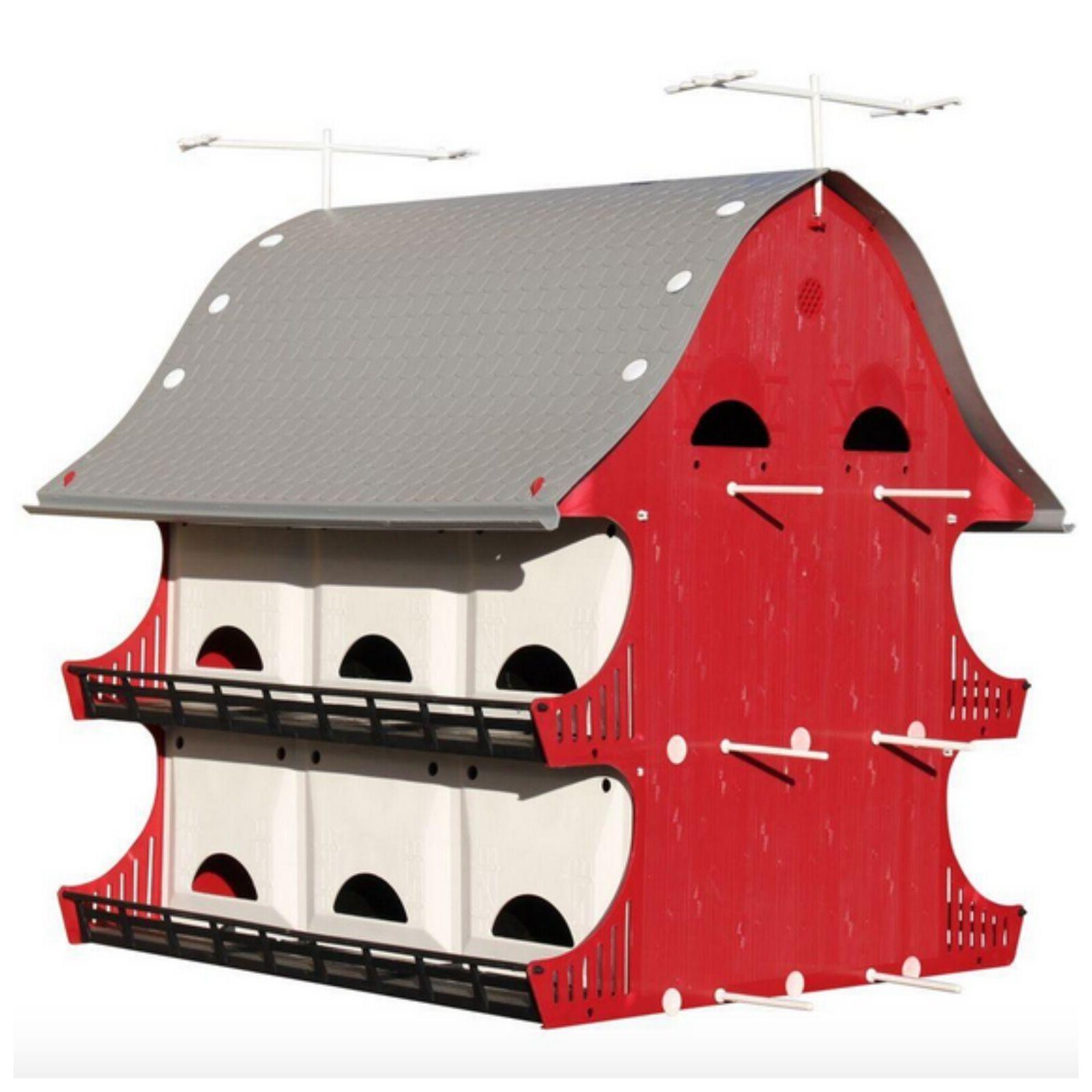 Purple Martin Bird House Birdhouse Perch Kit Outdoor Garden