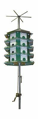 Trio Purple Martin Castle Safety System with Pole, 24 Room N