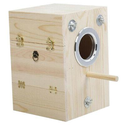 Wooden Bird House Large Aviary For