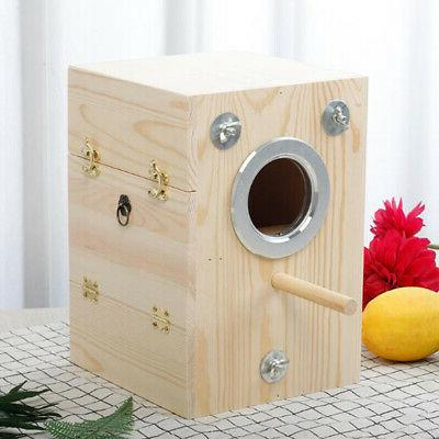 Wooden Bird House Large Parrot Aviary