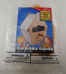 """Lowe's Build & Grow """"Hinged Birdhouse"""" - Easy to Build - Gre"""