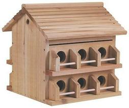 Heath Outdoor Products M-12DP Deluxe Wood Martin House by He