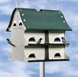 S & K Manufacturing American Barn Birdhouse - 12 Room, Model