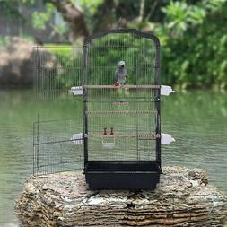 Metal Bird Parrot Cage with Stand Canary Budgies Lovebirds H