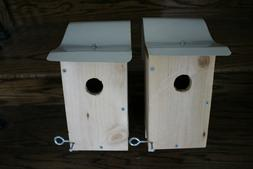 Premium bluebird cedar houses  with aluminum roof ready to m