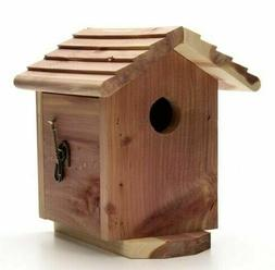 PENNINGTON RED CEDAR BIRD HOUSE Wild Birds Small Cavity Outd