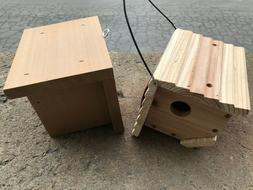 Set of 2 Wren birdhouses MADE in the USA
