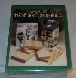 The Ultimate Birdhouse Book And Kit New and Sealed