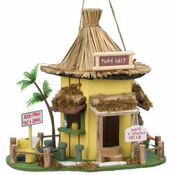 Tiki Hut Hanging Birdhouse