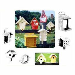 Woodworking Project Paper Plan to Build 27 Birdhouses and Fe